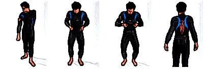 neoprenanzug-anziehen-arme-richten