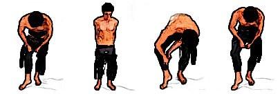 neoprenanzug-anziehen-beine-richten