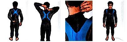 Neoprenanzug anziehen - Der Reißverschluss