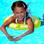 Freds Swim Academy Modell 10330 in gelb perfekt für 4 bis 8 Jahre