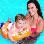 Freds Swim Academy Modell 10220 in orange perfekt für 2 bis 4 Jahre